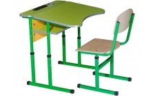 Комплект парта+стілець рег по висоті антисколіоз Оптом