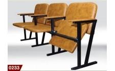 Кресло для актового зала мягкое в ткани (4 местное)