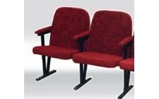 Кресло для актового зала мягкое в ткани (2 местное)
