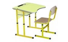 Комплект парта+стілець рег по висоті антисколіоз Жасмін