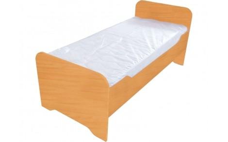 Ліжко дитяче з заокругленням без матрацу БУК