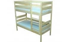 Ліжко з натуральної деревини 2-во ярусне (Сосна) без матрацу 35968