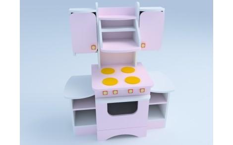 Кухня дитяча ігрова з МДФ накладками