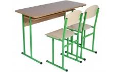 Комплект парта +2 стільці (діти 8-11 клас)