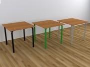 Стол для столовой квадратный 4-местный р. №6