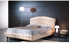 Шкіряне ліжко Честер