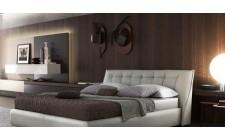 Шкіряне ліжко Сумо