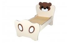Дитяче ліжко з МДФ накладками