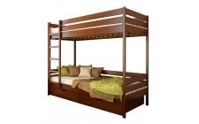 Ліжко Дует з 2ма шуфлядами Щит