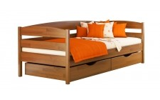Ліжко Нота плюс 900*2000мм з 2ма шуфлядами Щит