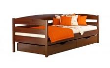 Ліжко Нота плюс 900*2000мм з 2ма шуфлядами Масив