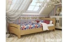 Ліжко Венеція 800*1900мм Масив