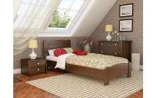 Ліжко Венеція Люкс 800*1900мм Масив