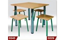 Столы и лавки для столовых